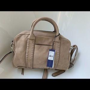 NWT Rebecca Minkoff Suede Satchel / Handbag